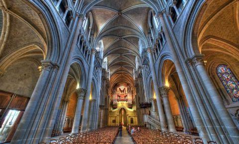 Catedrala din Lausanne (interior)