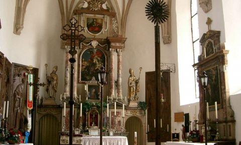 Catedrala din Salzburg (interior)