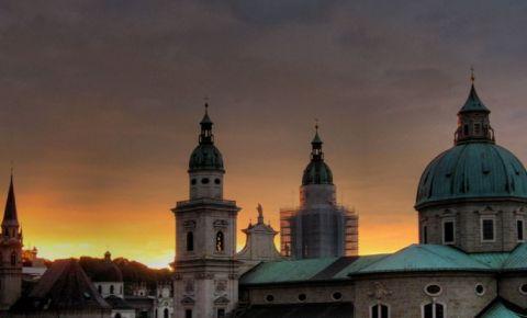 Catedrala din Salzburg (noaptea)