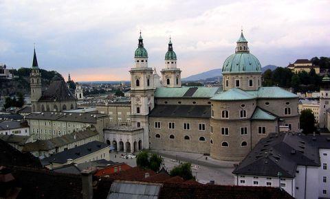 Catedrala din Salzburg (panorama)
