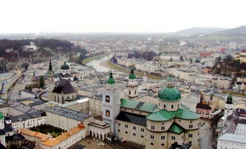 Catedrala din Salzburg (vedere panoramica)
