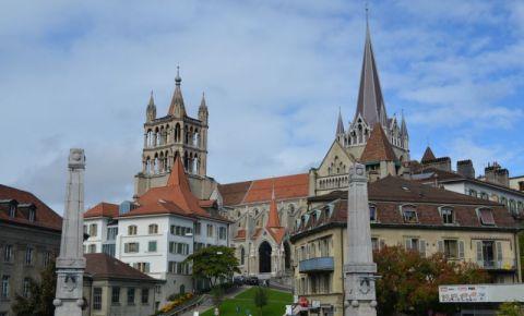 Catedrala Notre Dame din Lausanne (panorama)