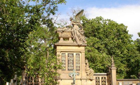 Cimitirul National Vysehrad din Praga