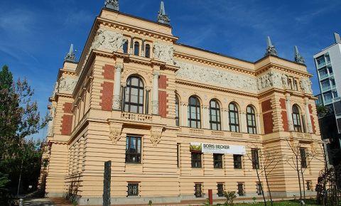 Cladirea Landesmuseum din Linz