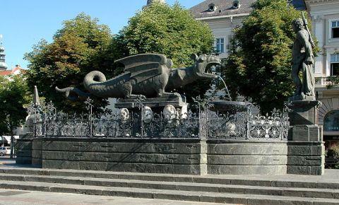 Fantana Dragonului din Klagenfurt