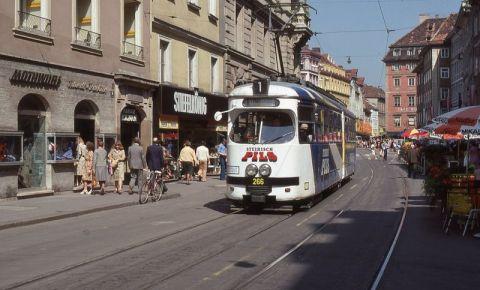 Pasajul Altstadtpassage din Graz
