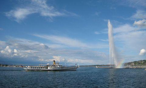 Lacul Leman din Geneva