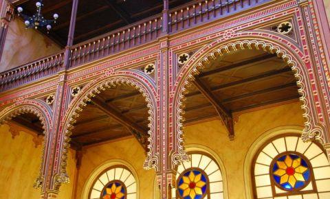 Marea Sinagoga din Budapesta (interior)