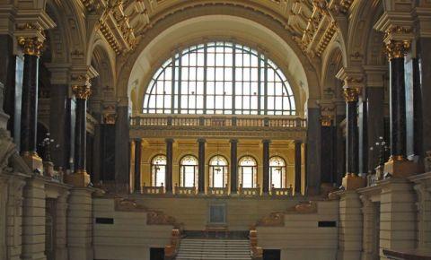 Muzeul Etnografic din Budapesta (interior)