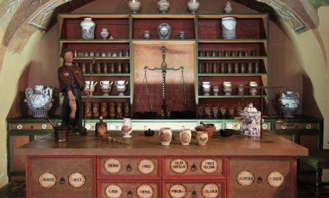 Muzeul Farmaciei Arany Sas din Budapesta