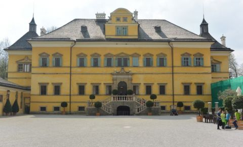 Palatul Hellbrunn din Salzburg