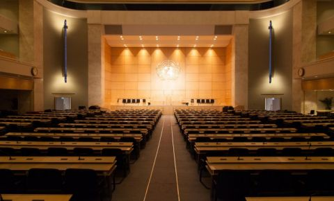 Palatul Natiunilor din Geneva (interior)