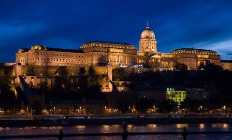 Palatul Regal din Budapesta (noaptea)