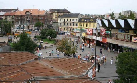 Piata Moscova din Budapesta