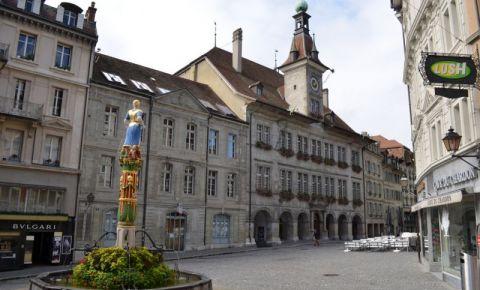 Piata Palud din Lausanne