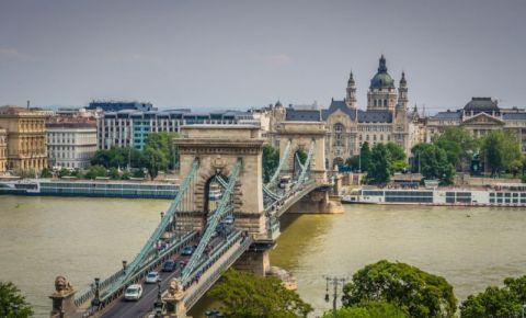 Podul cu Lanturi din Budapesta (panorama)