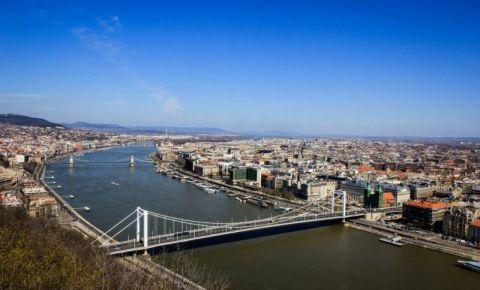 Podul Elisabeta din Budapesta (panorama)