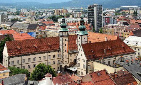 Sediul Guvernului Provinciei Carintia din Klagenfurt