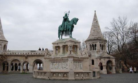 Statuia Sfantul Stefan din Budapesta