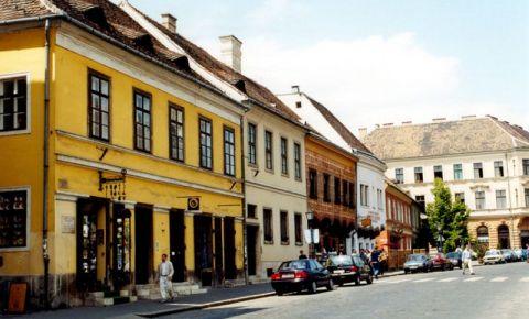 Strada Trezoreriei din Budapesta