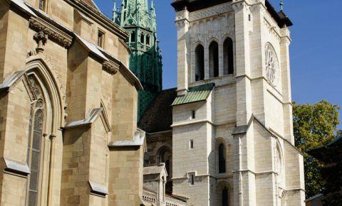 Turnul Nordic al Catedralei Saint Pierre din Geneva