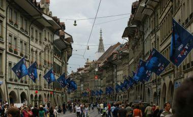Bulevardul Marktgasse din Berna