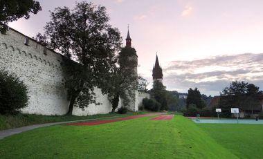 Fortareata Museggmauer din Lucerna