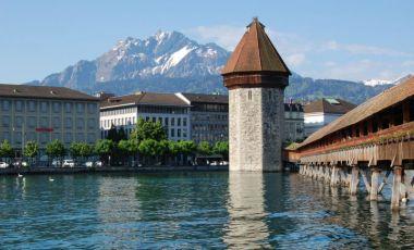 Podul Capelei din Lucerna