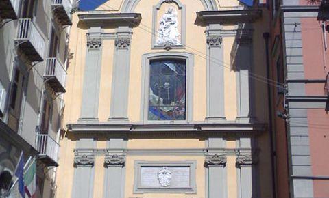 Biserica Santa Caterina a Chiaia din Napoli