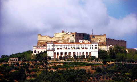 Castelul Sant`Elmo din Napoli