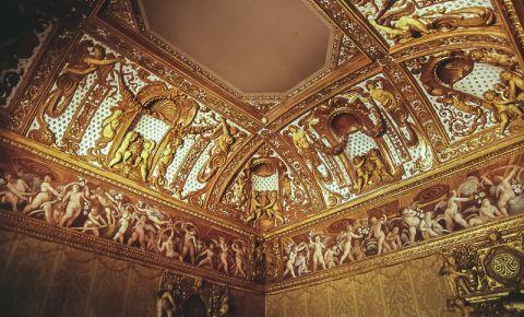 Castelul Valentino din Torino (interior)