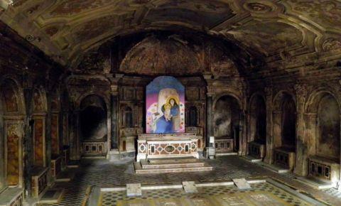 Catacombele San Gaudioso din Napoli