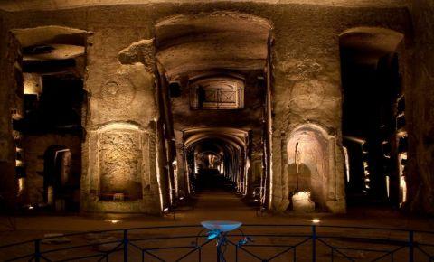 Catacombele San Gennaro din Napoli