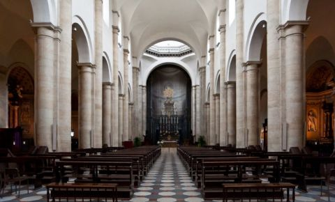 Catedrala Sfantul Ioan Botezatorul din Torino (interior)