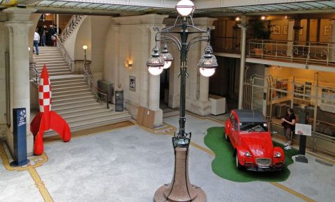 Centrul Belgian de Benzi Desenate din Bruxelles