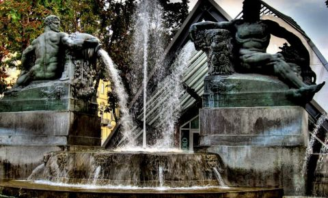 Fontana Angelica, Torino