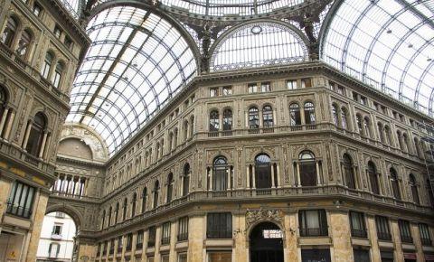 Galeria Umberto I din Napoli (interior)