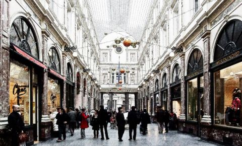 Galeriile Regale Saint-Hubert din Bruxelles