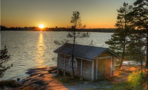 Insula Seurasaari din Helsinki