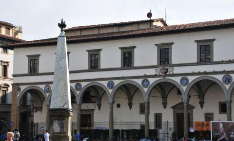 Loggia Spitalului San Paolo din Florenta