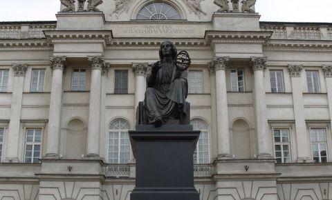Monumentul Nicolaus Copernic din Varsovia