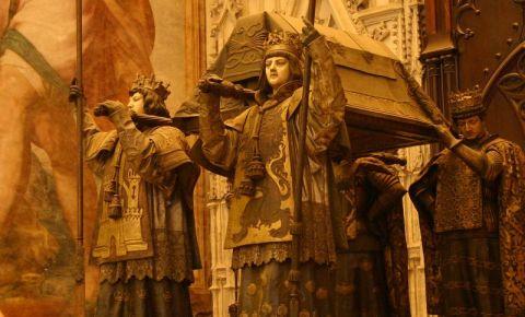 Mormantul lui Cristofor Columb din Sevilia