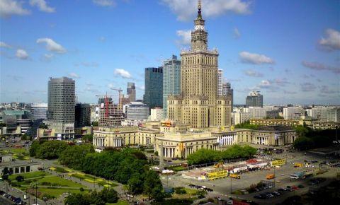 Palatul Culturii si Stiintei din Varsovia