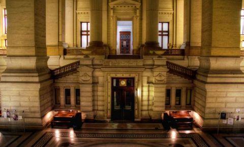 Palatul de Justitie din Bruxelles (interior)
