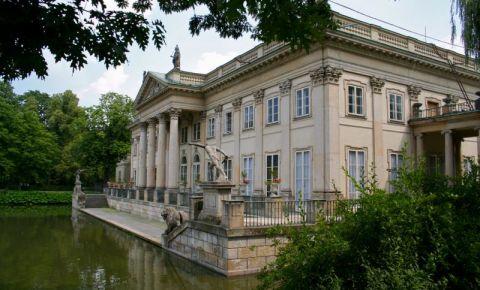 Palatul Lazienki din Varsovia