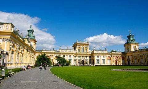 Palatul Wilanow din Varsovia (panorama)