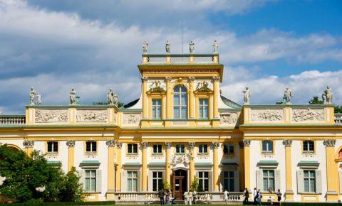 Palatul Wilanow din Varsovia