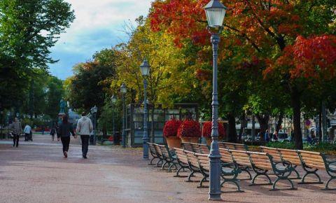 Parcul Esplanadei din Helsinki