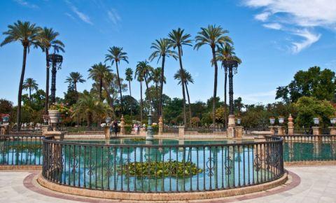 Parcul Maria Luisa din Sevilia