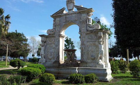 Parcul Villa Comunale din Napoli